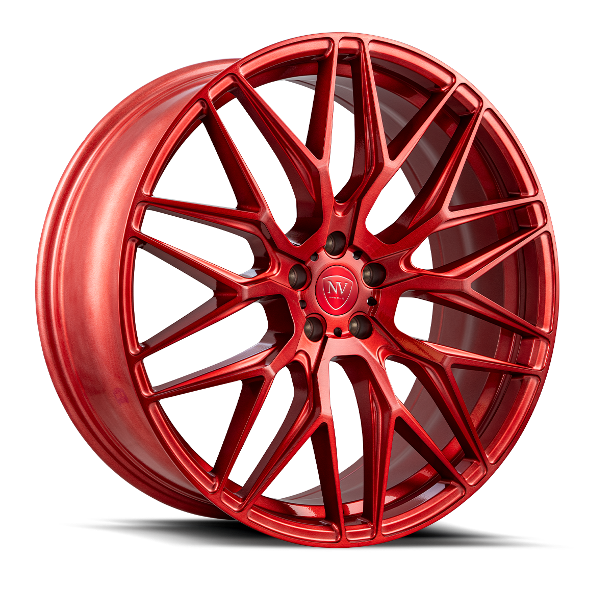 NV1 Brushed Red